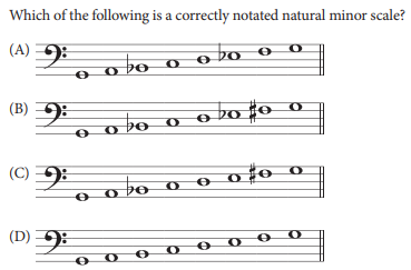 sample ap music theory question