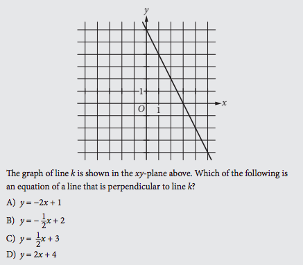 Sat Math Prep Lines And Slopes